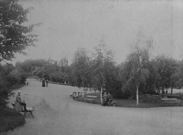 St.Hanshaugen ca. 1892, fotograf ukjent, fra arkiv etter Stadsingeniøren (A-20189/U/002/058)