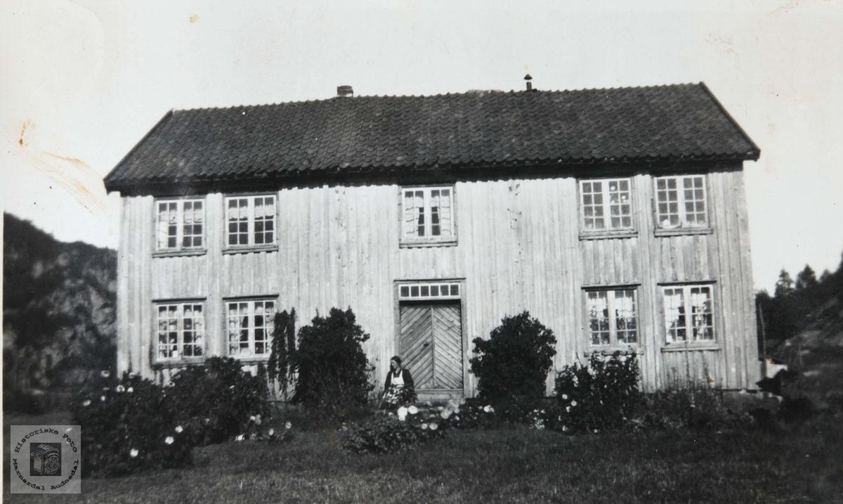 Huset på Storkemonen i Konsmo.
