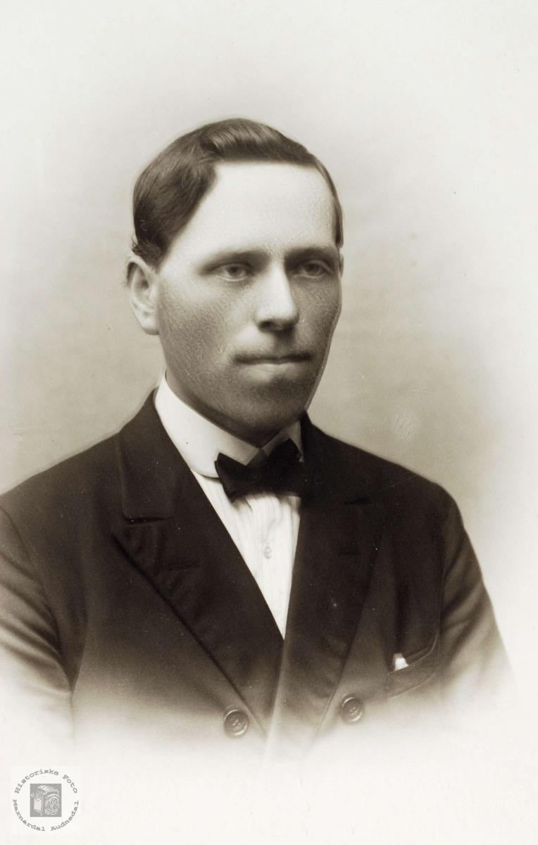 Portrett av Torkel Øydna, Grindheim.