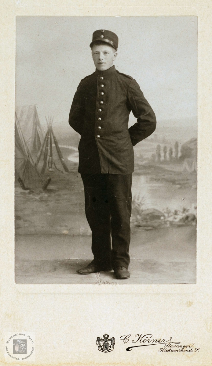 Portrett av Ole Byremo, Grindheim.