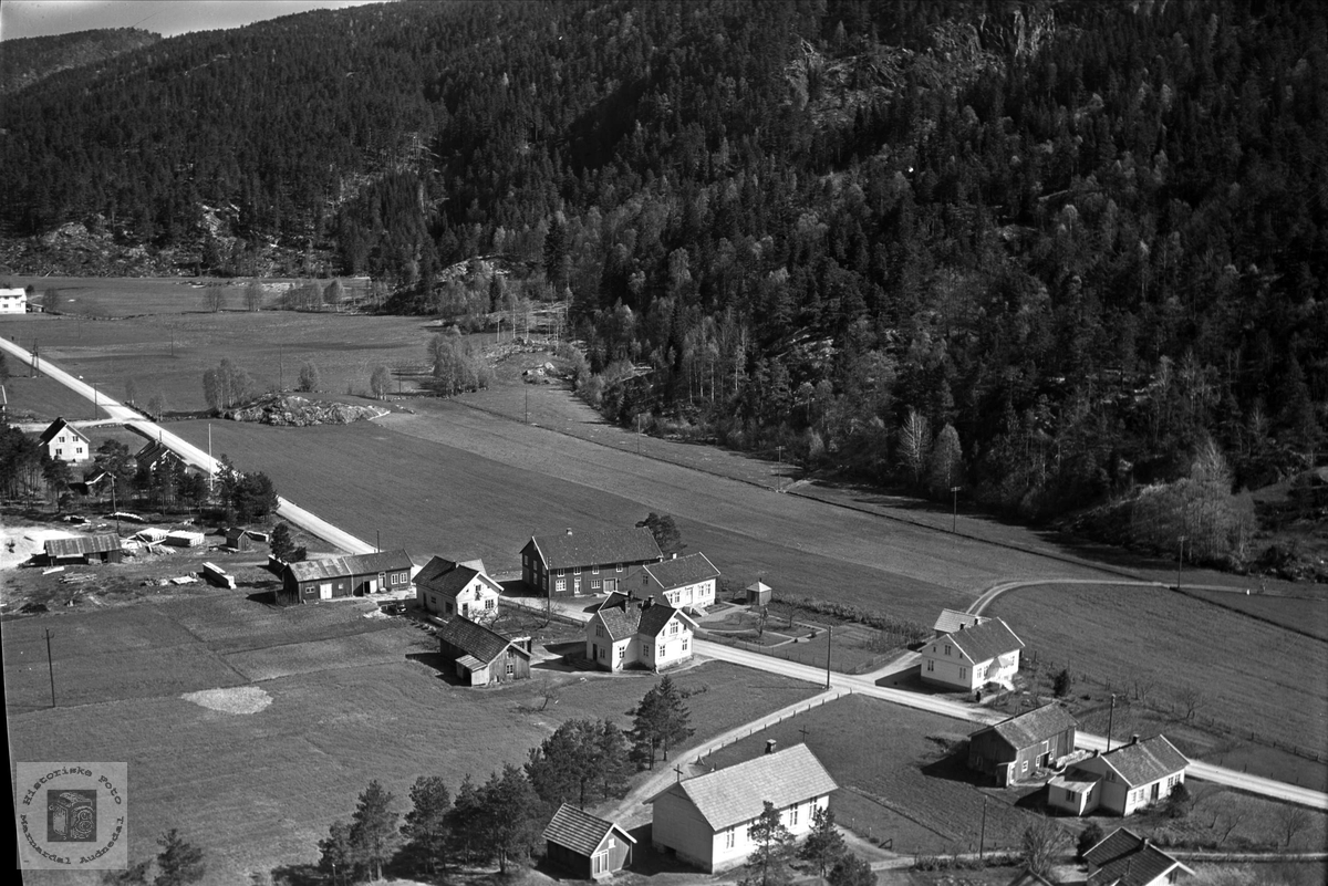 Flyfoto over   Audnedal.