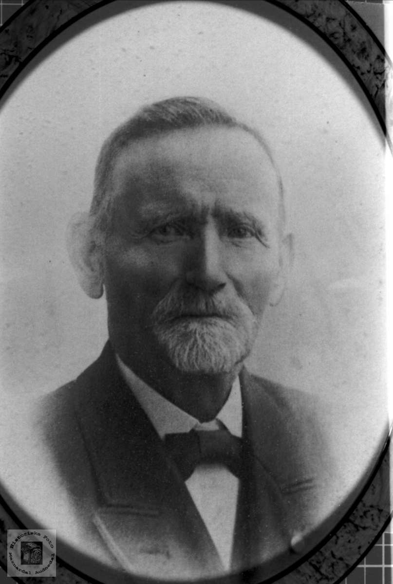 Portrett av Ole O. Fidje, Laudal.