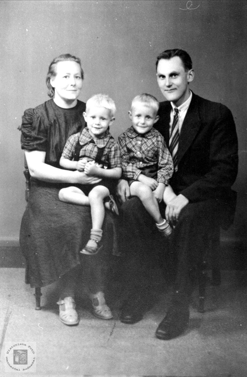 Familie gruppe Skuggedal, Kimestad, Søgne.