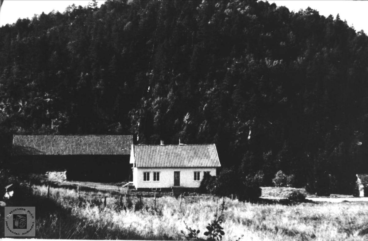 Gardsbruk på Finsådal i Øyslebø.