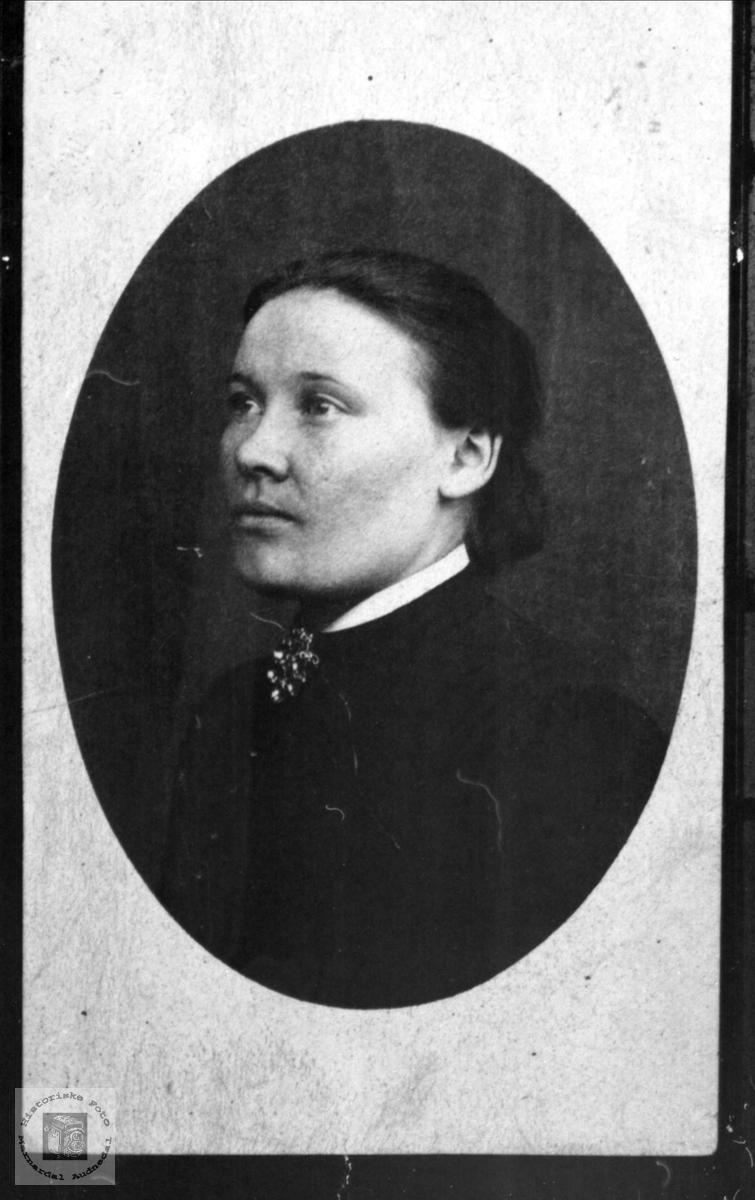 Portrett av Anna Manflå, Finsland.