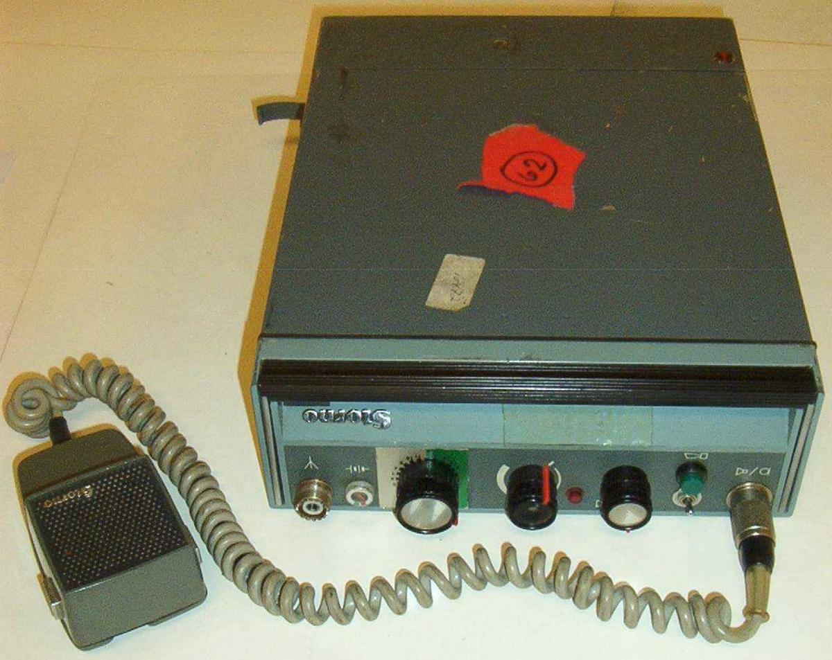 Radio/kjøretøymontert mobil