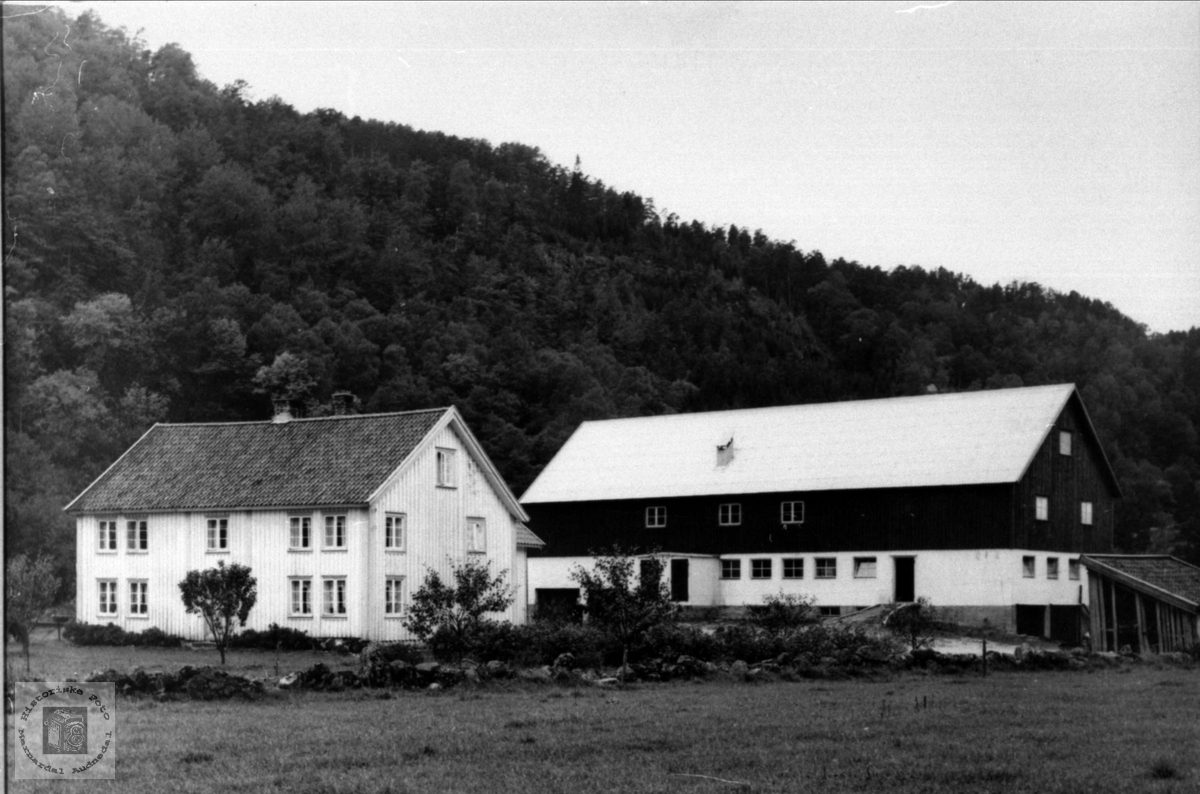 Garden Bue i Øyslebø.