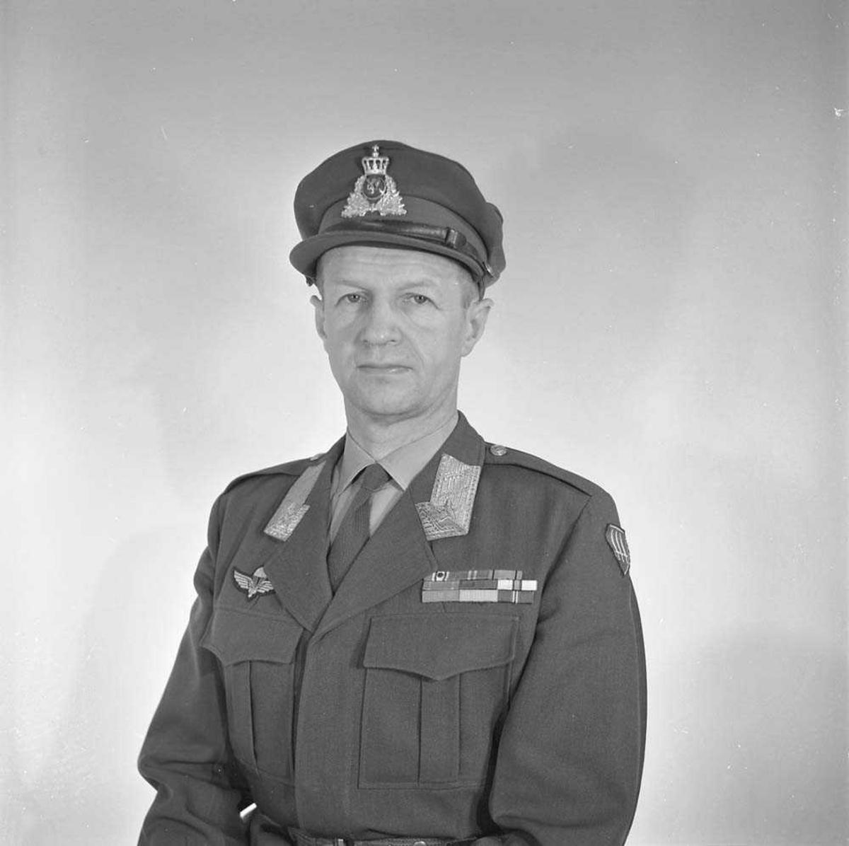 Portrett av General Major Herman F. Zeiner Gundersen.