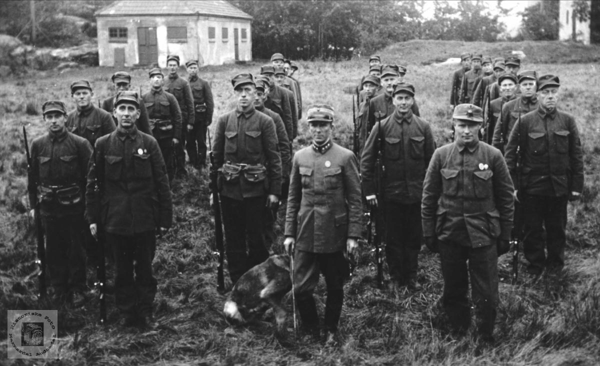 Nøytralitetsvakt, Odderøya 1939