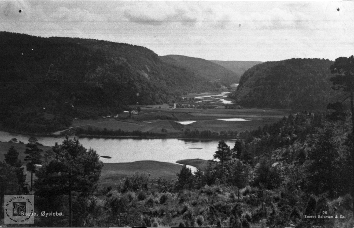 Landskap Skaue og Mandalselva
