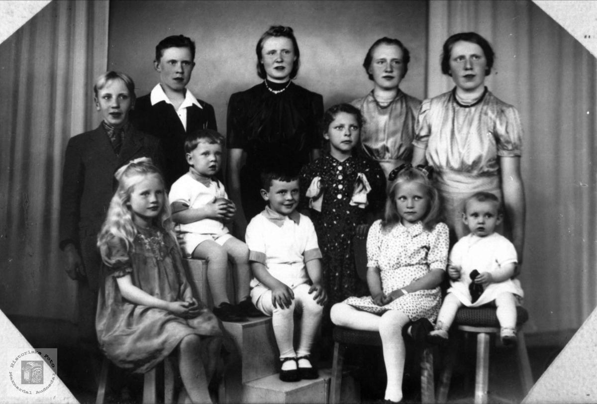 Barnegruppe Fam fra Manneråk.