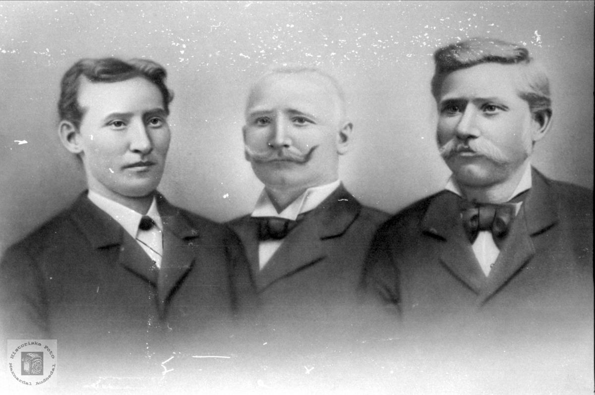 Tre brødre.