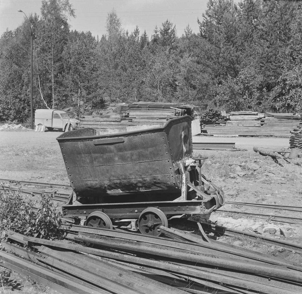 Gammel vagg ved Sølvgruvene på Kongsberg