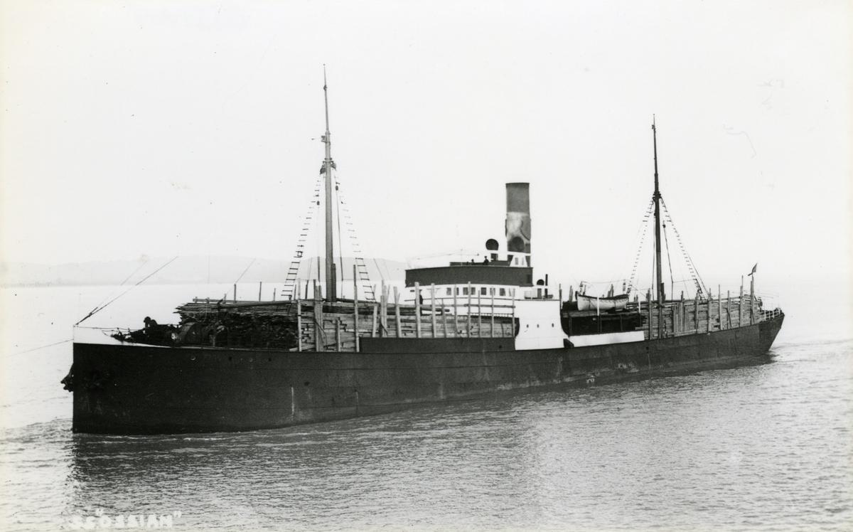 Ägare:/1921-41/: Rederi AB Alfa. Hemort: Helsingborg.