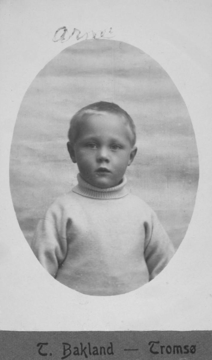 Portrett av Arne Rasch, sønn av Gjert Rasch og hustru Margrethe, f. Michaelsen