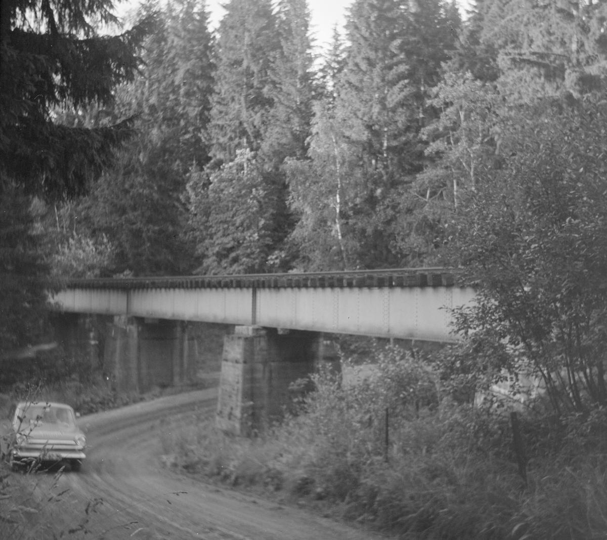 Kolstad bru på den nedlagte Solbergfossbanen