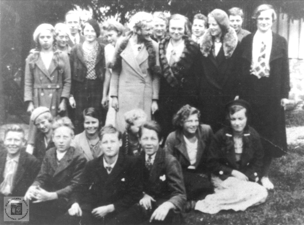 Konfirmantene 1935