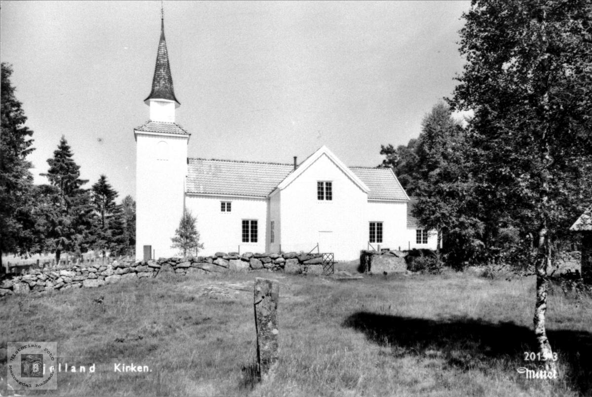 Bjelland kyrkje