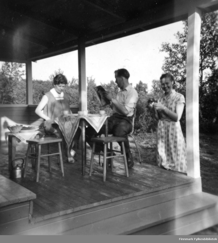 Søsterhytta i Tomaselvdalen, 1960