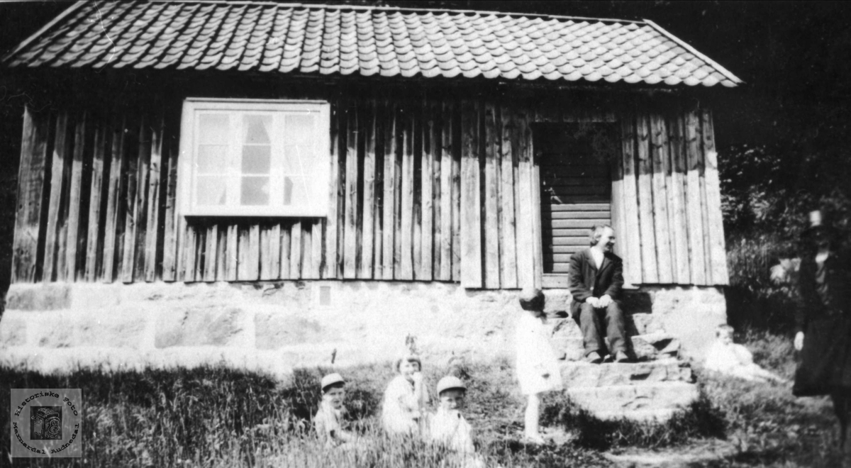 Husmannsplass. Lia, Tjomsland.