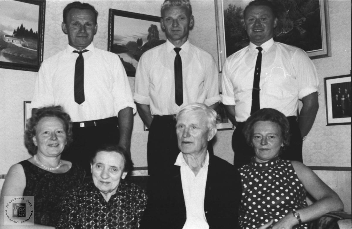 Familiegruppe - Familien Gunstein Fidje.