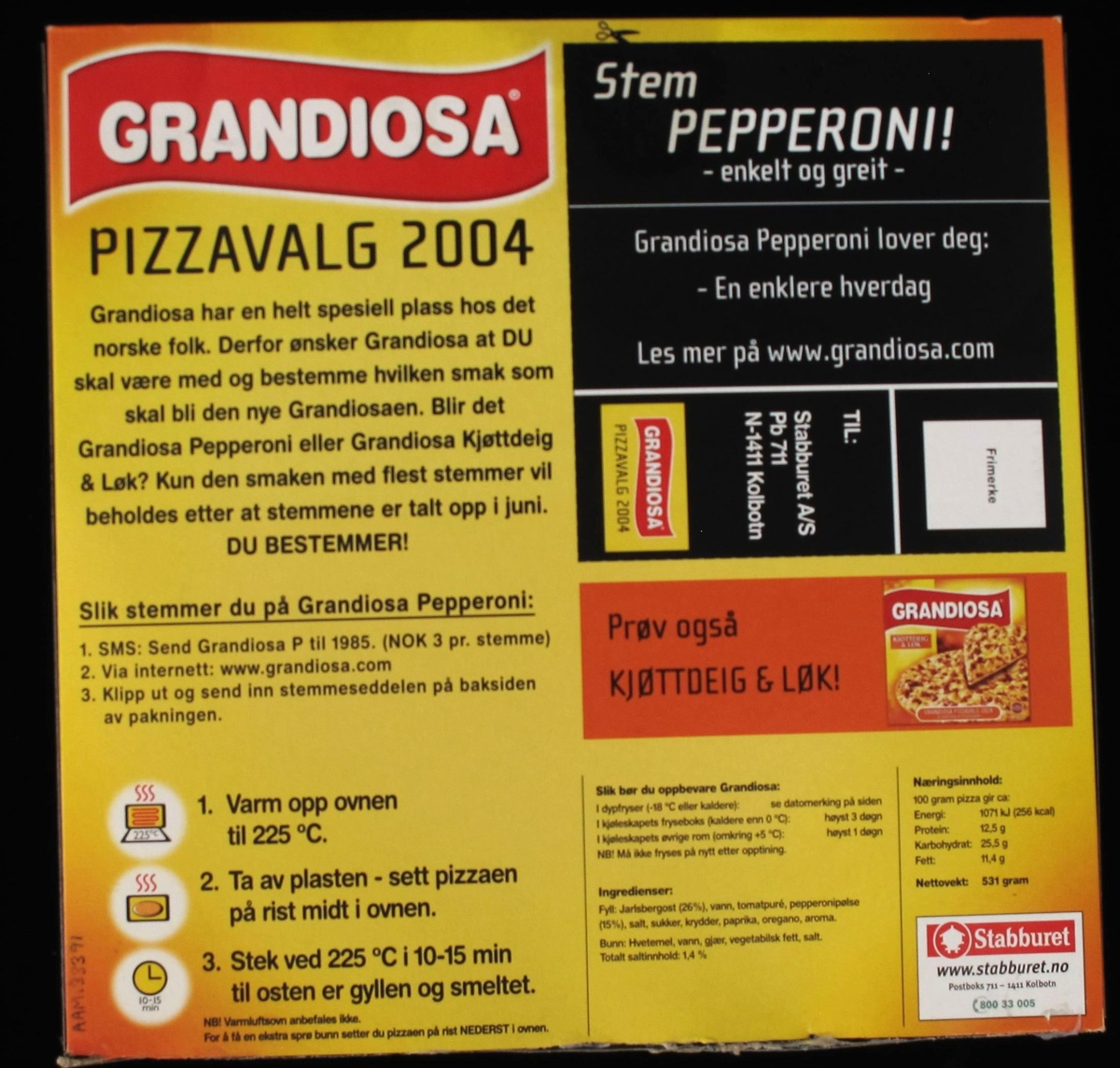 Pizza med ost og pepperonipølse