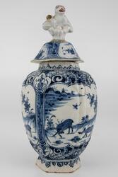 Cachemire-vase [Vase med lokk]