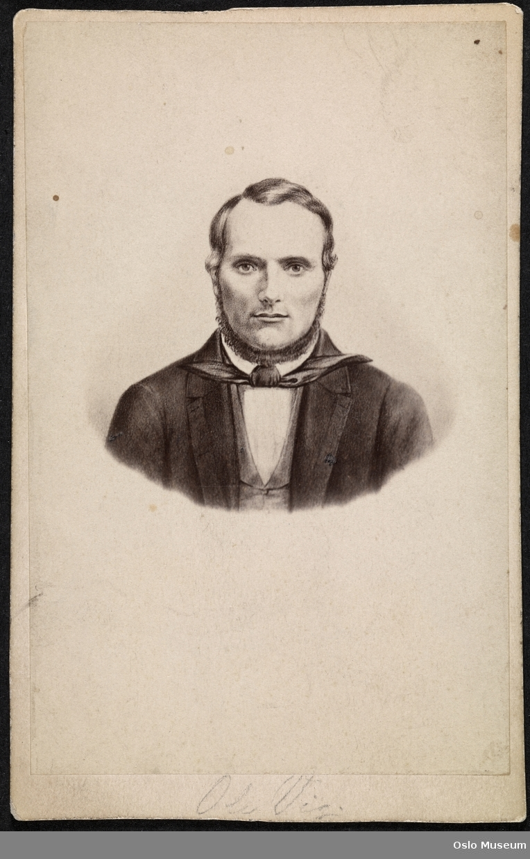 annen teknikk: portrett, mann, forfatter, folkeopplysningsmann, brystbilde