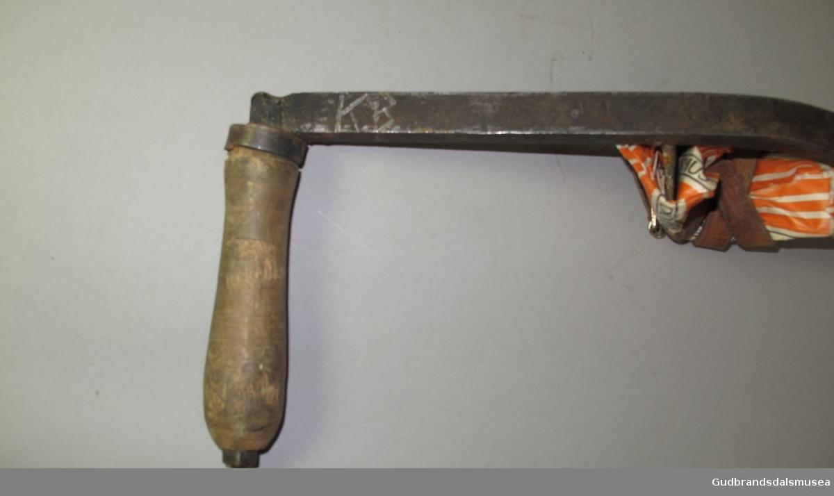 Mosefarkniv til bruk ved lafting.