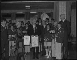 Kongens fortjenestemedalje og kommunens kulturpris 1979, Mel
