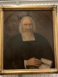 Porträtt av prosten Elavus Fryksell [Målning]