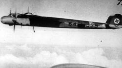 Tyska krigsmakten. Dornier 217. Bombplan.