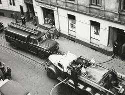 Brann i Kristian Augusts gate 6, 4. november 1959.