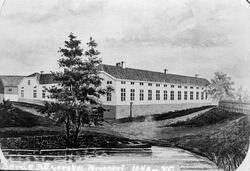 Borås Bayerska Bryggeri 1848-1875 i kvarteret Saturnus.