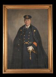Marinläkare/kapten Öberg, Carl A