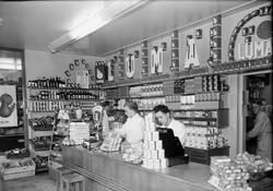 Livsmedelsaffär, Uppsala 1951