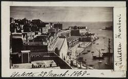 Valletta havn, Malta.