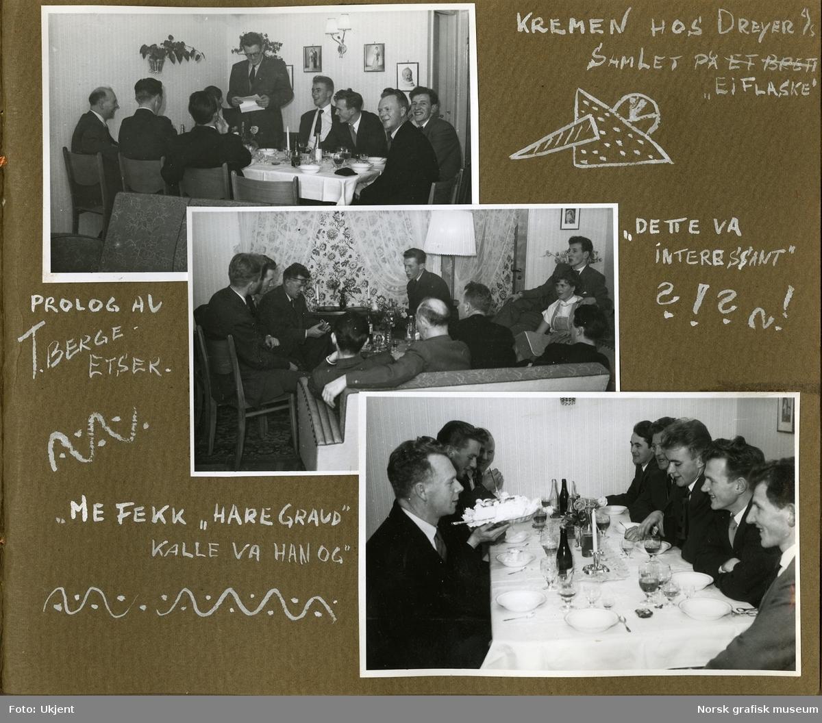 """Albumet """"Ætseriet"""" fra Dreyer Reproduksjonsanstalt i Stavanger. Består av 130 enkeltfotografier. Digitalt opptak og metadata lagt inn på hvert enkelt undernummer i serien. Bildene lagt inn på dette hovednummeret, er albumsidene i sin helhet. Opplysninger på siste side i albumet: """"Billederne er fotografert og samlet av følgende Gunnar Wareberg Jakob Roalsvig Trygve Berge R. Årsvoll R. Lindberg D. Olsen A. Olsen T. Gjesteland J. Brodahl Boken tilhører ætseriet"""""""