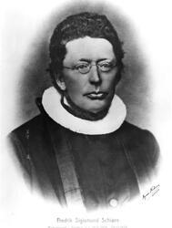 Prest Fredrik Sigismund Schiørn, sogneprest i Varteig fra 26