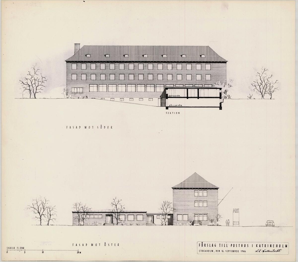 Posthus Katrineholm.