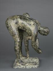 Kvinde med dreng [Bronseskulptur]