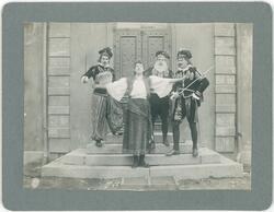 Studentspex vid sekelskiftet 1900, Uppsala