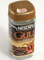 Glass pulverkaffe Nescafé