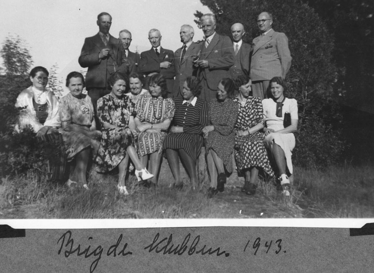 Privat bridgeklubb under krigen