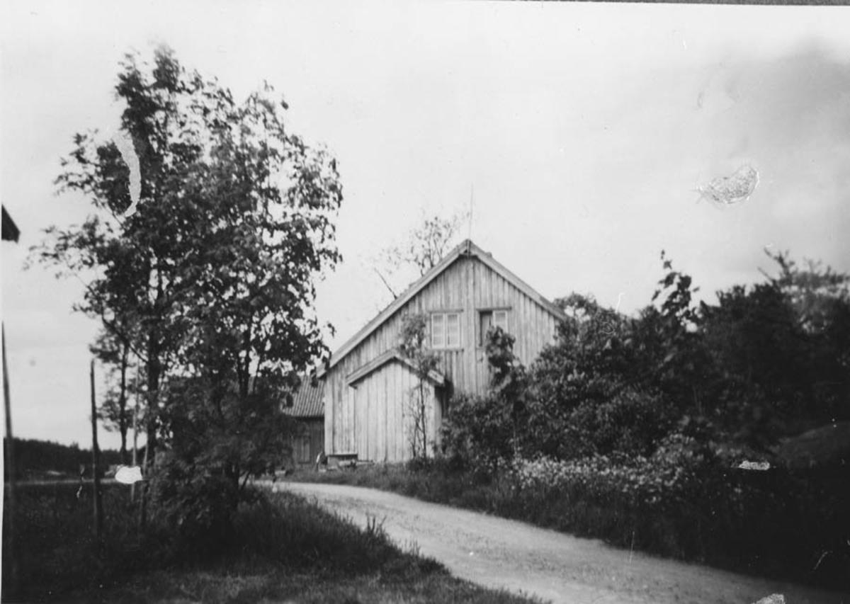 Gammelt hus (Nes i Kråkstad).