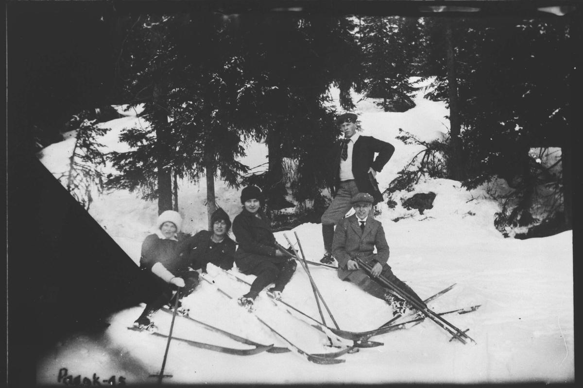 Påsketur, Løvesen 1915.