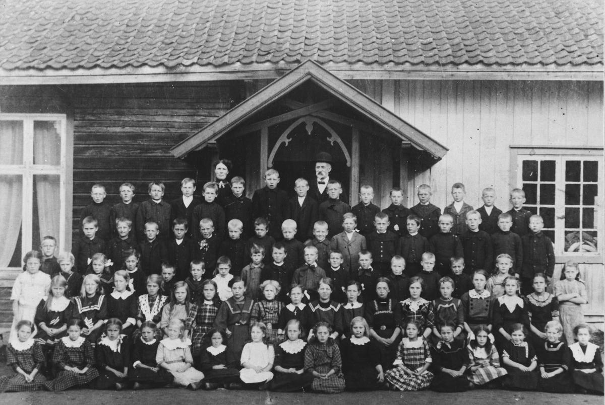 Skole bilde fra Jerpstad skole.