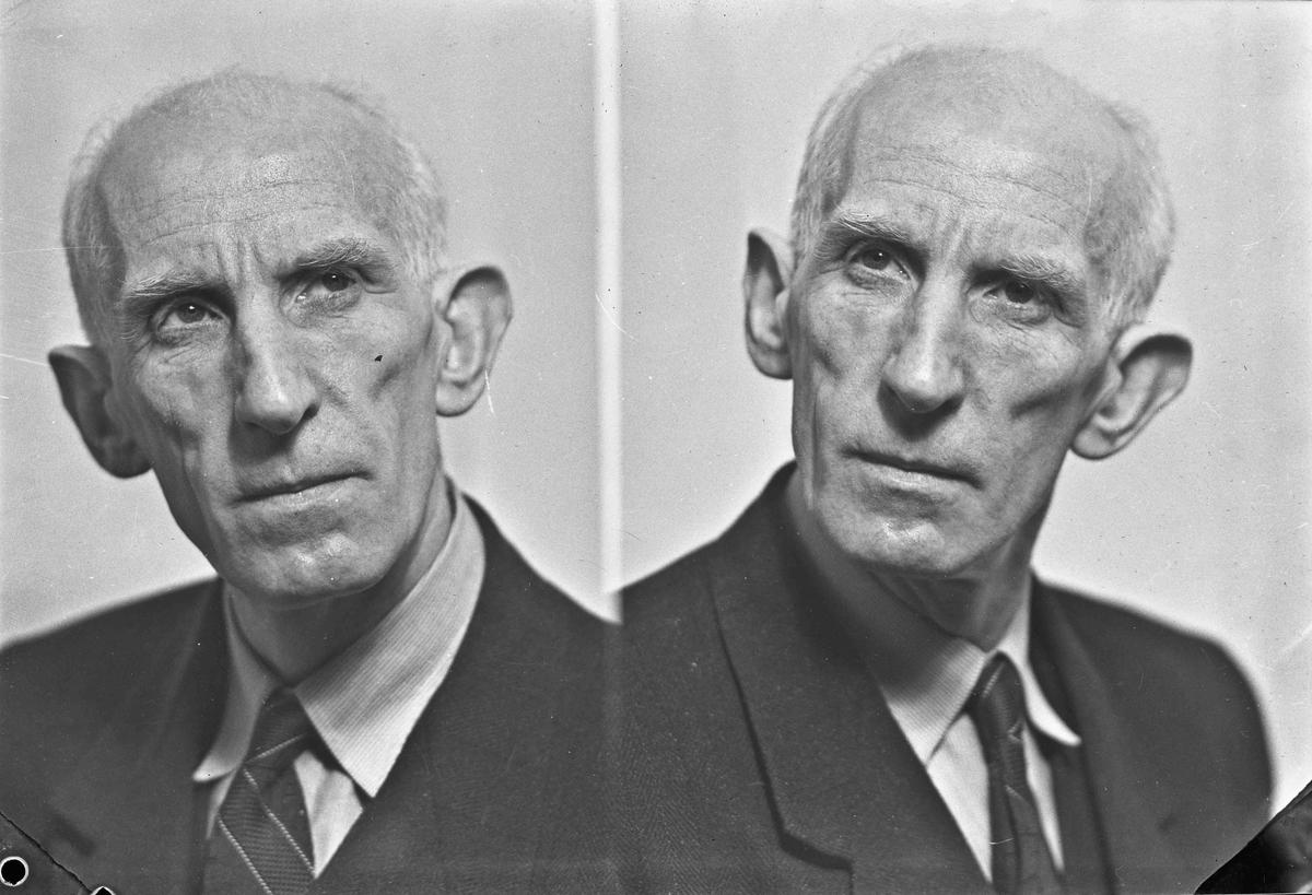 Portrett mann.