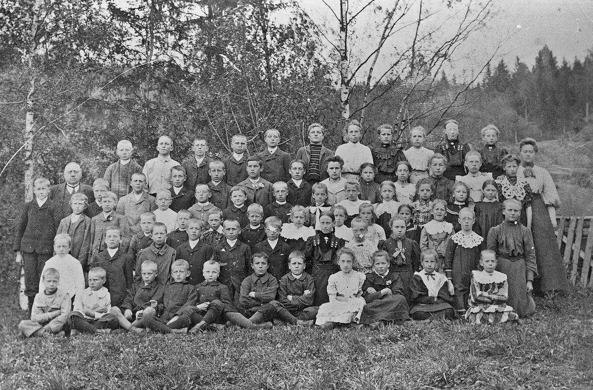 Langset skole 1906.
