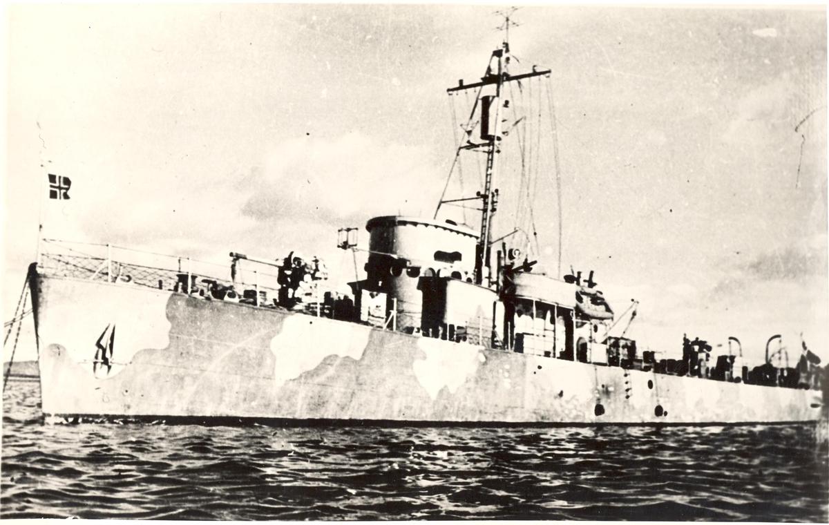 Undervannsbåtjageren King Haakon VII.